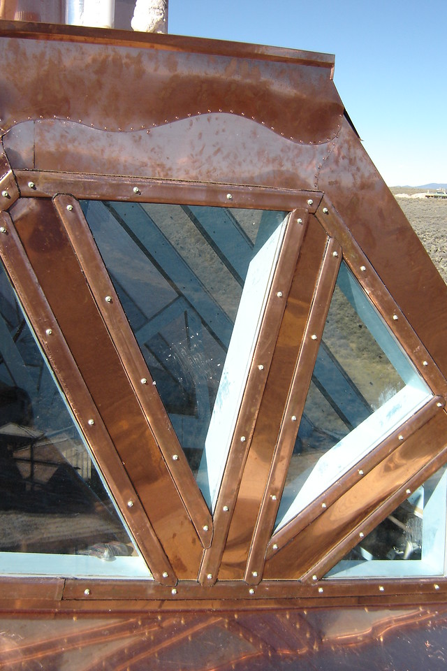 Window detail on Angeles Nest - with Randy William Cisneros