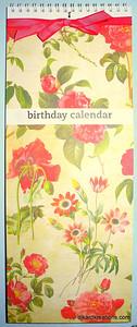 Perpetual Calendar F 1
