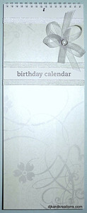 Perpetual Calendar A 1