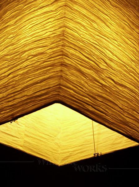 Glowing Paper Lantern