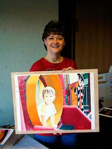Ann Kullberg Colored Pencil Seminar