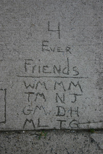A Quote: 4 Ever Friends<br /> Coming St., Charleston, SC