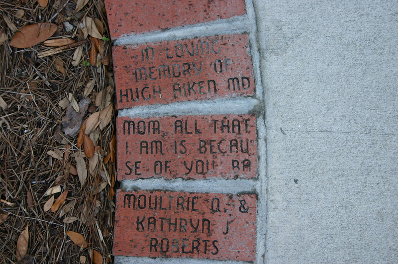A Quote: brick<br /> Rutledge St., Charleston, SC