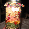 Layered soup mix for fair entry.