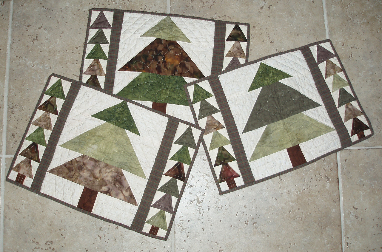 3 of 6 Pine Placemats