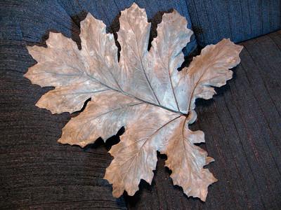 Grecian Pattern Plant Leaf Cast