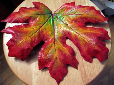 Maple leaf - finished