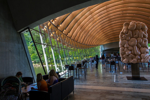 Crystal Bridges Art Museum of American Art - Bentonville Arkansas