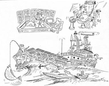 Drawings, Cartoons