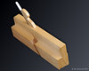 This molding plane is made of maple.