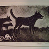 Etchings - all with a more somber mood and theme - SOLD