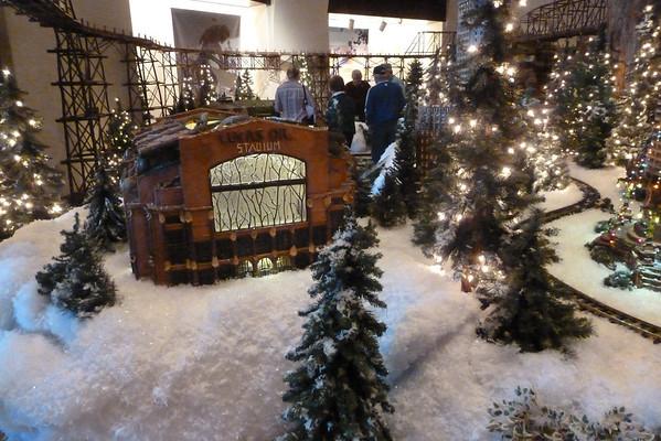 Eiteljorg train exhibit