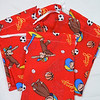 "7 Curious George favor bags with single white ribbon closure, 5""x7"". $3"