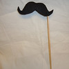 Mustache #5<br /> Fleece and foam board Photo Booth Prop, 1 available.  $2 each