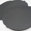 """Set of 50 Scalloped Oval Tags.  4 5/16"""" x 2 7/8"""".  Black in Color. Recollections Card Stock, 65 lb., Acid and Lignin Free.  3 sets available.  $3 a set or all 3 sets for $8."""