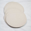 """Set of 50 Oval Tags. 1 1/2"""" x 2 5/16"""". Color: Driftwood. Wausau Papers. Royal Fibers Cover Stock, 80 lb. 1 set available. $2 for the set."""