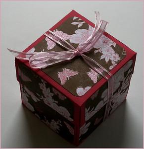 Butterfly Wraparound Explosion Box