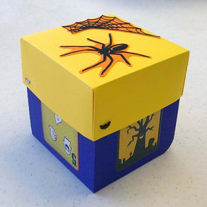 Halloween Explosion Box