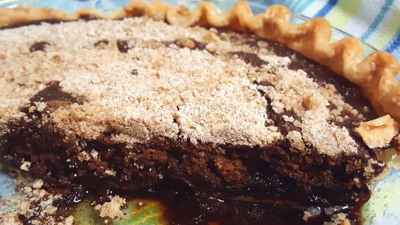 My shoo-fly pie