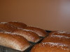 Fresh loaves made by Troyer's Country Amish Blatz, Asheville NC (Rob's sister's store)