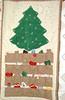 Mom's handmade Christmas stocking