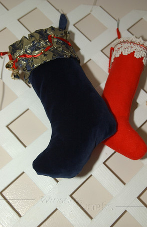 Mom's handmade Christmas stocking