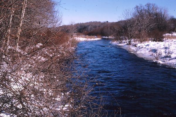 Winter Stream, New Hampshire
