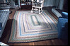 Braided rug for our living room in Westford MA.