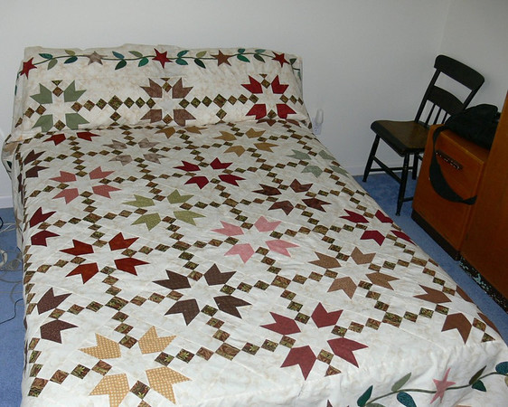 Large quilt for double bed