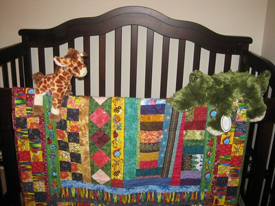 New Baby Crib & Quilt From Ramona