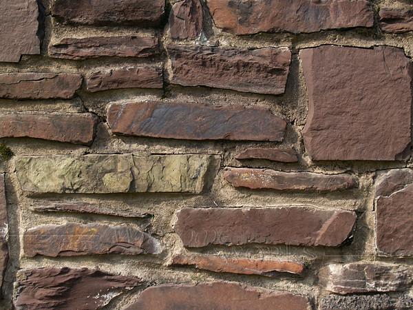 Stonework on Covered Bridge, Perkasie PA