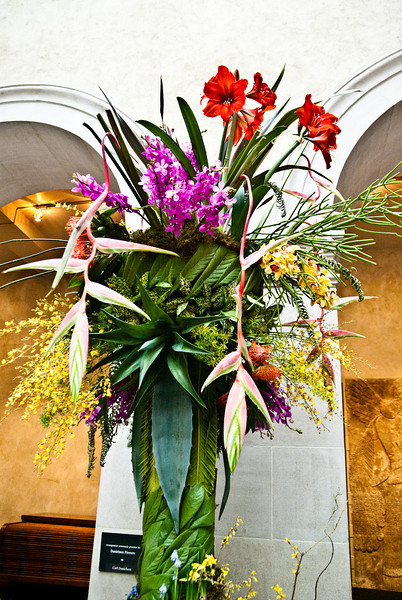 Courtyard arrangement<br /> <br /> Danielson Flowers