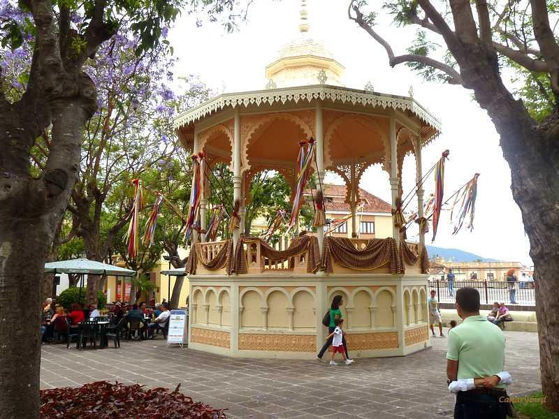 Bandstand in La Orotava