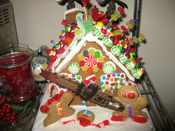 Gingerbread House of Horrors