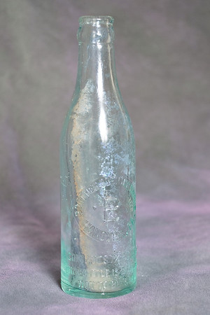 Bortner Bottling Works Hanover PA Contents 71/2 FLD OZS This bottle is Registered Not to be sold. (stamped on the bottle)