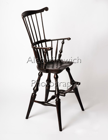 Comb Back High Chair