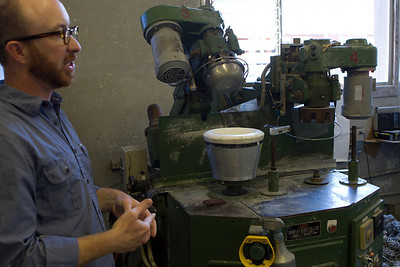 Some machines are available to help make the clay shapes using a mold to help shape the part.