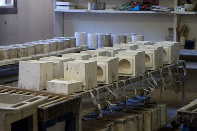 There are a variety of molds in use.