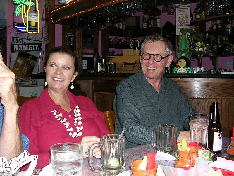 2004 - Day of the Dead dinner at Teotihuacan restaurant in Houston