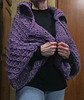 This is the last project of 2017.  The shrug is as heavy as it looks and fun to do after the light-weight shawl.  :-)  It was almost completely redesigned from the original pattern. too.  November, 2017.