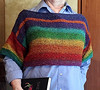This Kauai Rainbow sweater is a memento of my visit.  I found the yarn and pattern at the Twisted Turtles Yarn Shop in Lihue, which is so apropos given the rainbow is a symbol of Hawaii. January, 2016.