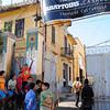 Main entrance Les Abattoires in Casablanca (old slaughterhouse)