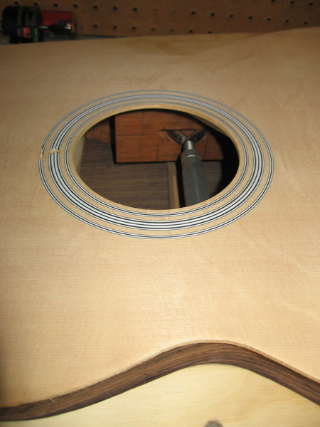 We have a guitar body!