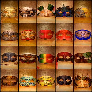 My daughter created these masks for a school art project.  I felt inspired to photograph each one. ref: 74ee1d8e-966a-4d20-a3ec-56fc17aed37c