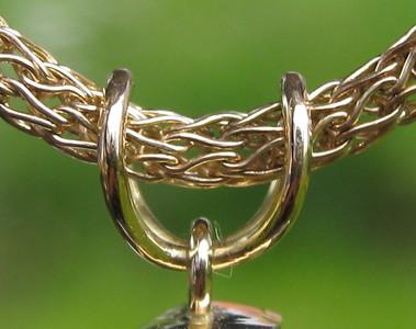 Detail tourmalene pendant