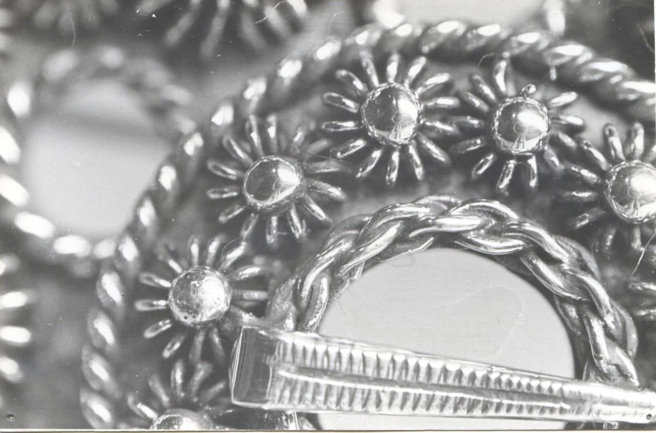 Detalj slangesølje, 925 Sølv