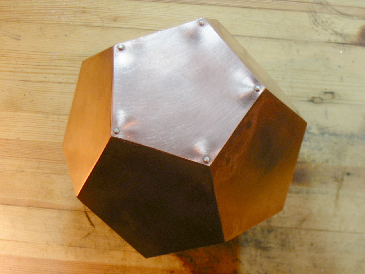 Pentagon dodecahedron, Fuondation-stone for the Waldorf school in Ringerike