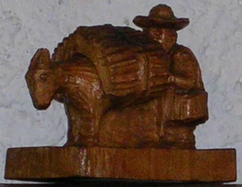 Wood carving by Mardona Magana in DF