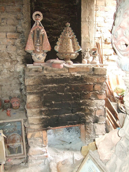 Martin's kiln and virgins