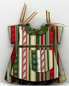 Christmas Mini Dress Altered Album